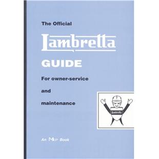 "Imagem de Produto para ""Livro de bolso Lambretta ""The official Lambretta Guide for owner-service and maintenance""Title"""